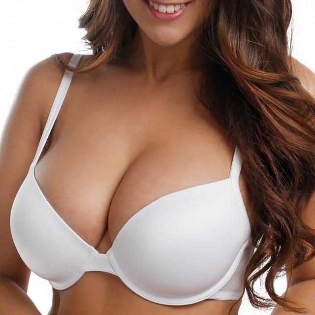 7011d86236 Essential Women s Underwire Full Coverage T-Shirt Bra Plus Size 32-40 DD E  F G