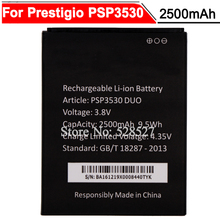 PSP3530 DUO Battery 2500mAh Battery For Prestigio Muze D3 3530 Duo E3 PSP3531DUO Muze A7 PSP7530DUO Accumulator