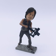 The Walking Dead Daryl Dixon PVC Figure Collectible Model Toy 6cm(China)
