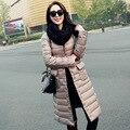 Jaqueta feminina Fina para baixo meninas jaqueta parágrafo curto moda jaqueta leve como uma pena. o novo outono e inverno casaco longo para baixo
