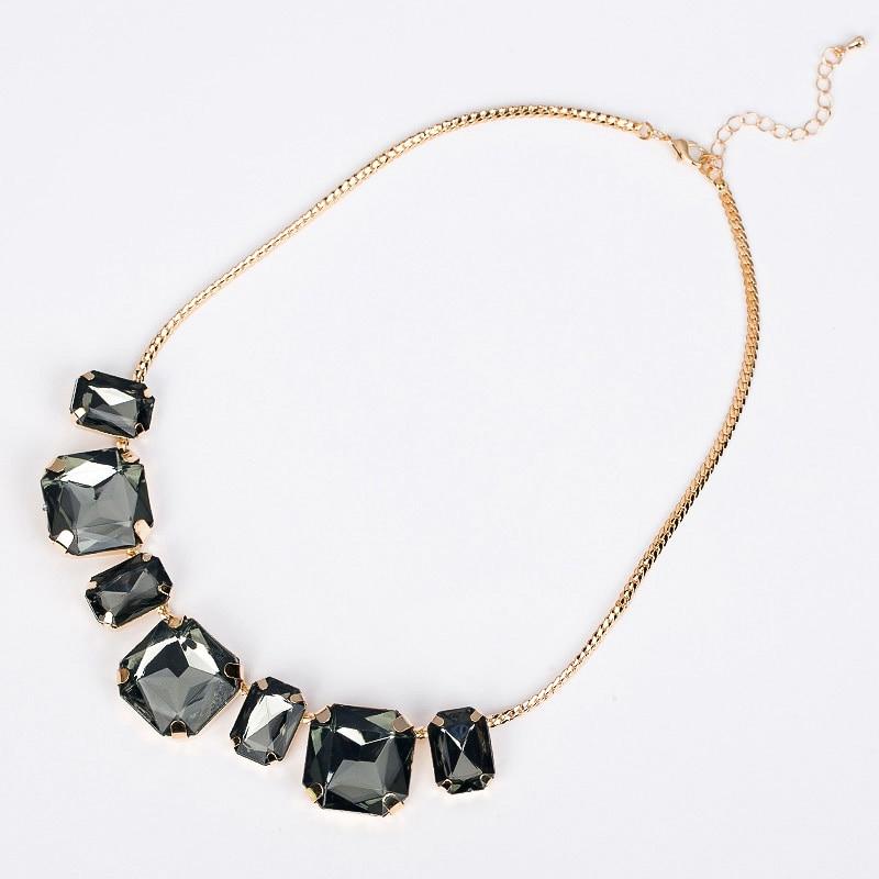 1170 necklace female short design necklace gem fashion vintage crystal fashion necklace N022