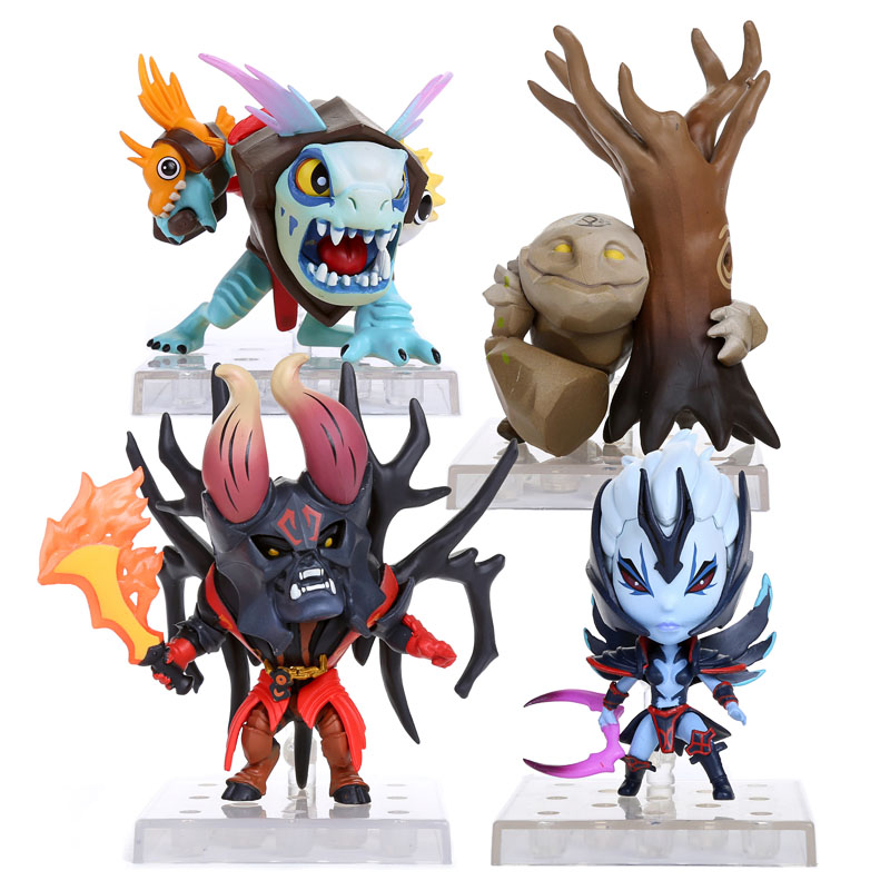 aliexpress com buy dota 2 hero lucifer slardar tiny silkwood pvc