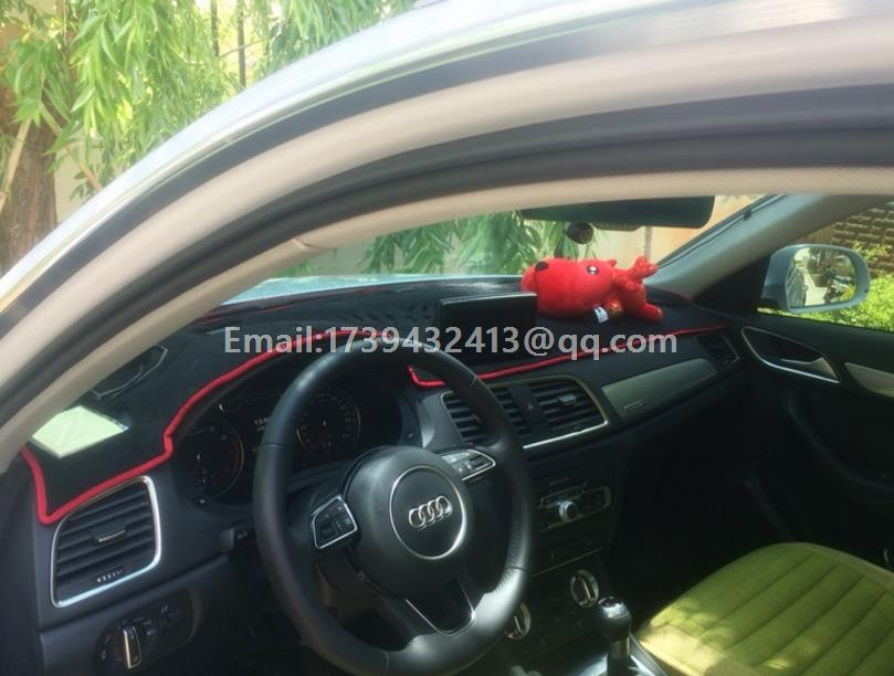 dashmats auto-styling accessoires dashboard cover voor audi SQ3 Q3 2013 2015 2014 2016