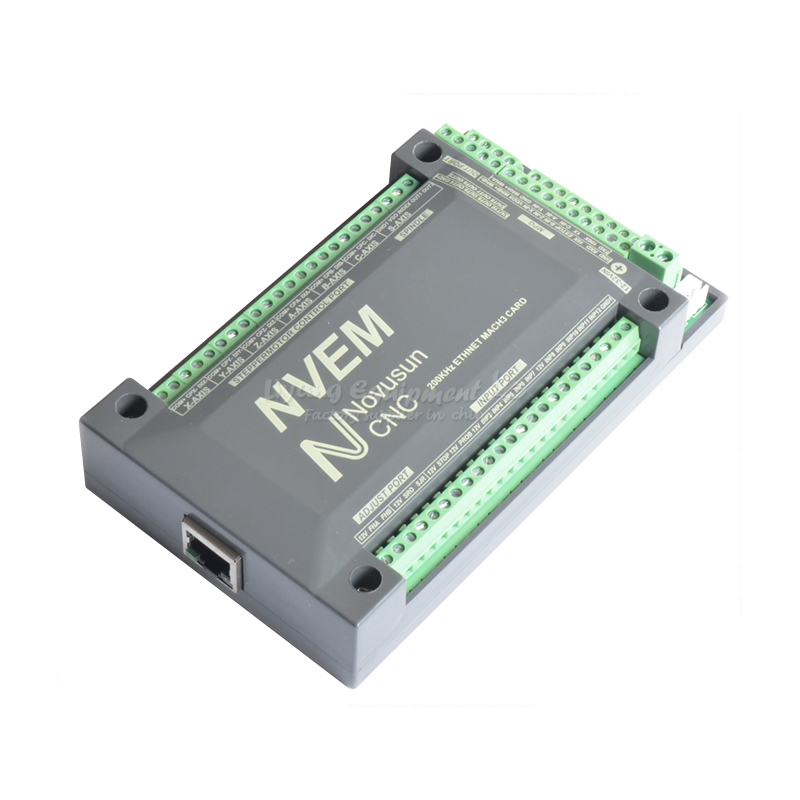 CNC driver controller the Ethernet MACH3 interface board for 3axis  4axis 5aixs 6axis cnc milling machine ethernet mach3 interface board 6 axis control