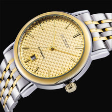Men Top Luxury Brand Full Steel Strap Business Automatic self wind mechanical Auto Relogios Dress Classic