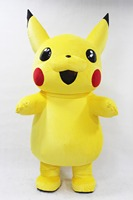 New Pikachu Inflatable Costume Halloween Cosplay For Advertising 2.2M Tall Customize For Adult Suitable For 1.6m To 1.9m Adult