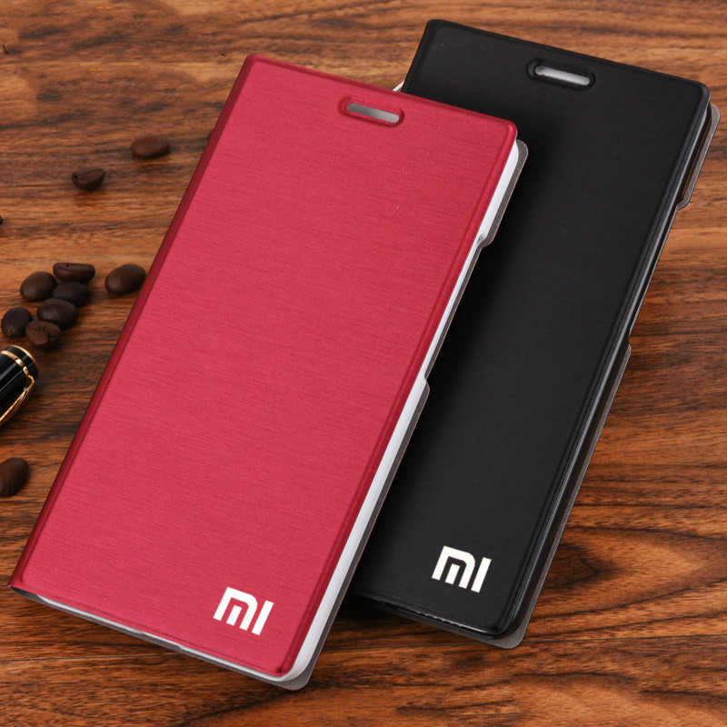 Leather Case 3-Cover-Bag Xiaomi Redmi Luxury for 3/3s/3x Slim-Style Flip New-Arrival