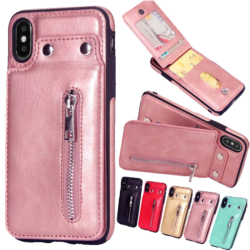 iphone xs wallet case rose gold