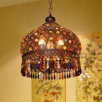 Special coffee shop bar, chandelier, cafe, Bohemia Thai clothing store bedroom LE crystal lighting