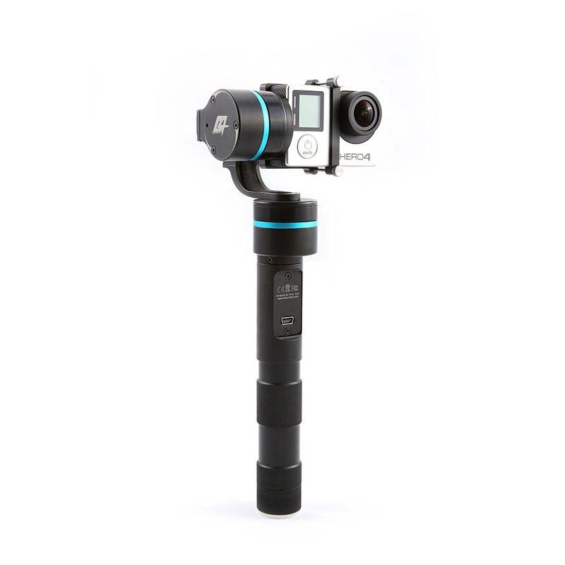Support de caméra fixe avec poignée sans balai DHL FeiYu FY-G4 3 axes pour Gopro Hero 3 3 + 4 bleu ou doré