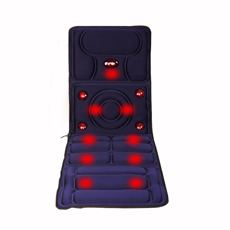 8 Mode Full-Body Massager Far Infrared Massage Relieve back fatigue Mattress Cushion Vibration Head Body Foot Massage electric full body multifunctional massage mattress vibration massage device massage cushion infrared full body massager