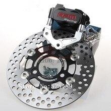 For Yamaha Aerox Nitro BWS 100 JOG 50 rr RPM CNC Motorcycle Brake Caliper+Brake Pump Adapter Bracket+200mm/220mm Brake Disc Sets