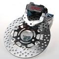 For Yamaha Aerox Nitro RSZ BWS JOG RPM Brand CNC Motorcycle Brake Caliper+Brake Pump Adapter Bracket+200mm/220mm Brake Disc Sets