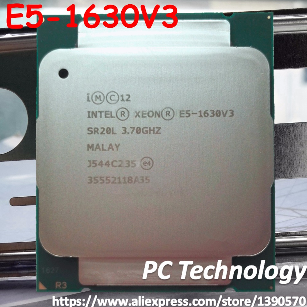 Intel Processor E5-1630V3 4CORES 22NM 10M 140W Original
