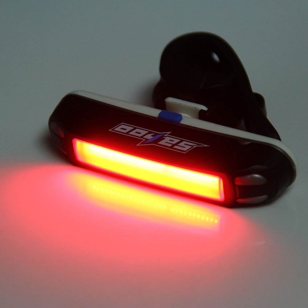 Waterproof Bike Rear Light 30LED Bicycle Taillight Warning Lamp USB Rechargeable