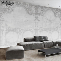 Beibehang Custom Papel De Parede 3d European Style Angel Building Decoration Living Room Background Wall Photo