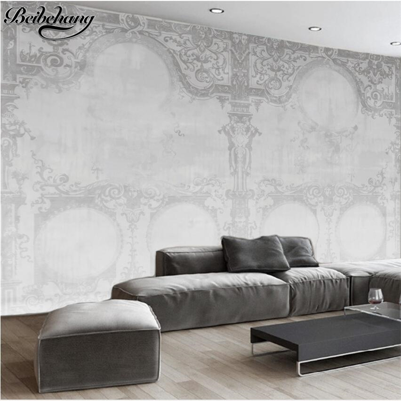 beibehang Custom papel de parede 3d European style angel building decoration living room background wall photo wall mural beibehang custom european victoria photo