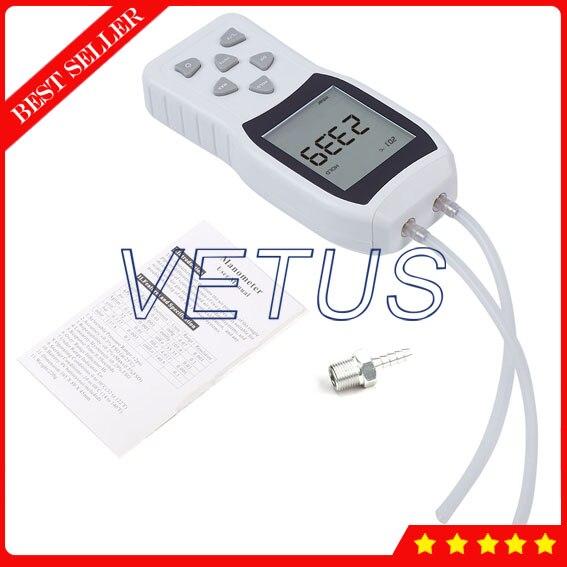 TL103 High Precision Manometer gauge Portable Digital Piezometer with 0.29% accuracy Pressure tester meter professional digital economic manometer 15 000psi gauge