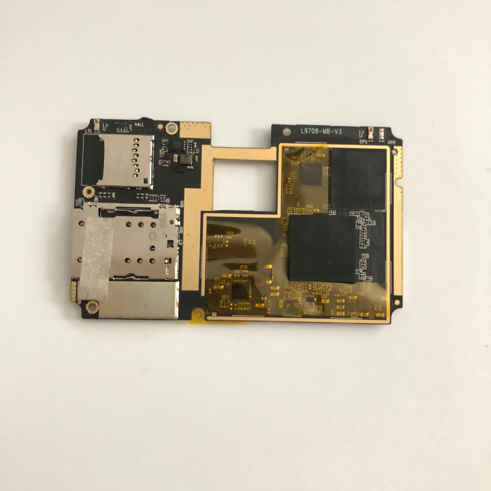 Used Mainboard 4G RAM+64G ROM Motherboard For Elephone S8 MTK Helio X25 Deca Core 6.0 Inch FHD 2560x1440 + Tracking Number