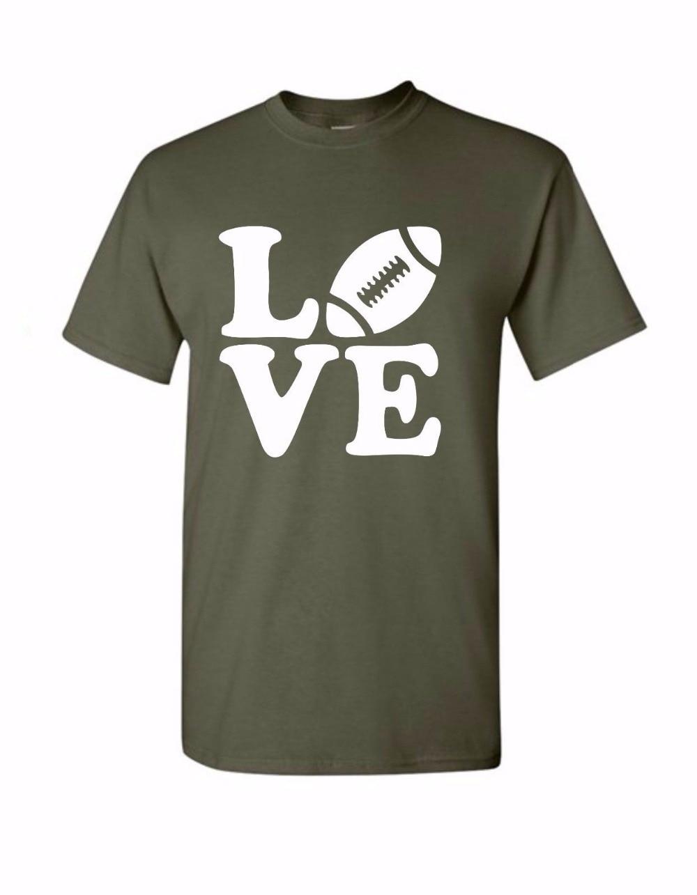 T shirt design youth - 2017 Fashion Short Sleeve T Shirt Youth Round Collar Customized T Shirts Design I Love