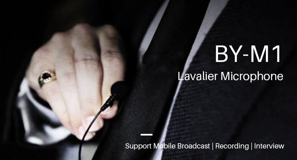 Boya M1 Clip Microphone