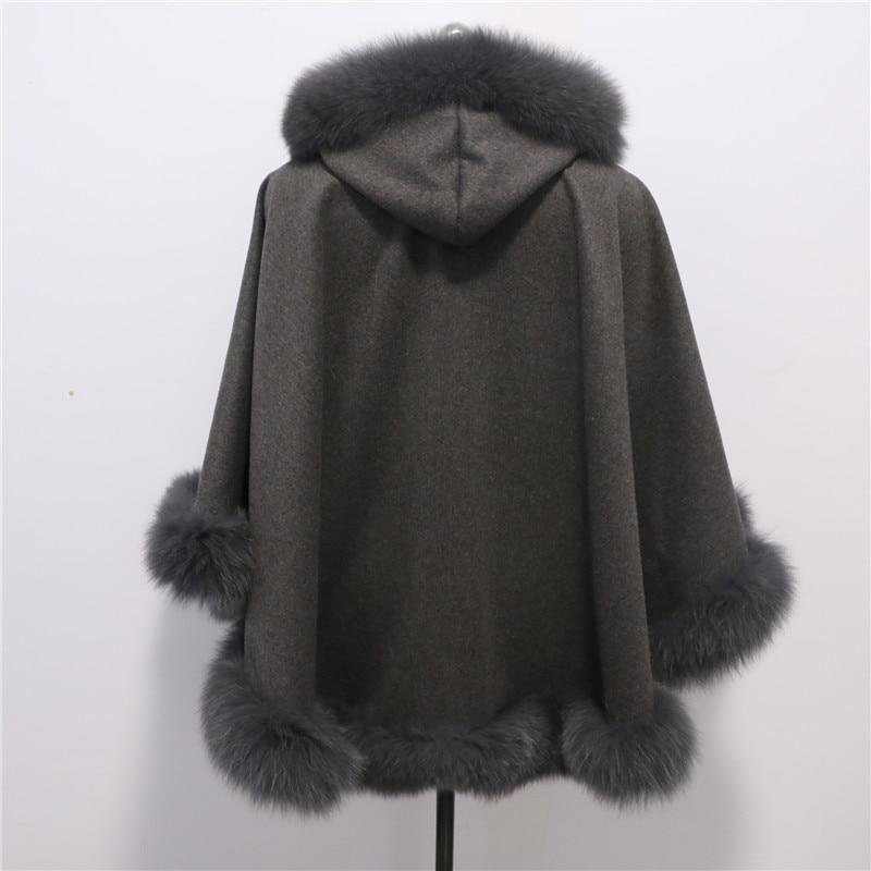 Brezplačna dostava Nova moda plemenita lisica krzneni plašč - Oblačilni dodatki - Fotografija 3
