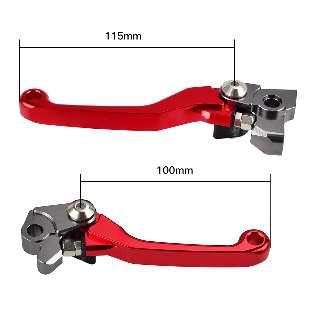 <font><b>CNC</b></font> Pivot Brake Clutch Lever For Beta RR 2T RR RS 4T 2019 2018 <font><b>2017</b></font> 2016 2015 2014 2013 X-Trainer 2015-2018 Motorcycle Parts image