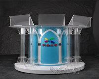 Изготовленный напрямую с фабрики Высокое качество оптовая продажа на сцене складной светодио дный led DJ Booth портативный светодио дный светод