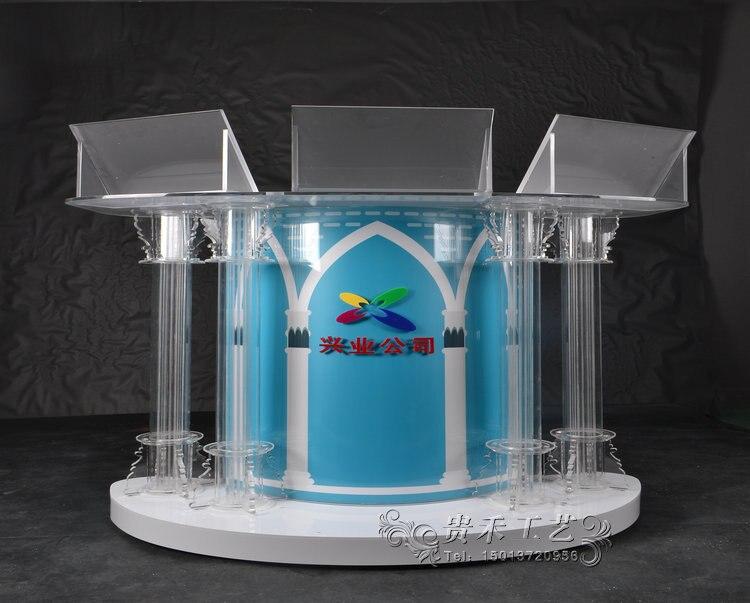 Fabriqué usine directement de haute qualité en gros sur scène pliante LED DJ stand Portable LED lumières 120*50*110 CM