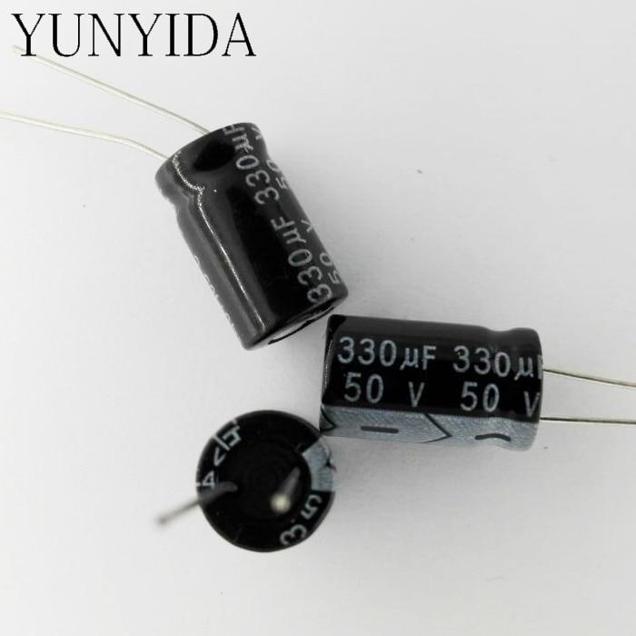 8Values 80PCS 16V Electrolytic Capacitor Kit Set 10uF~470uF