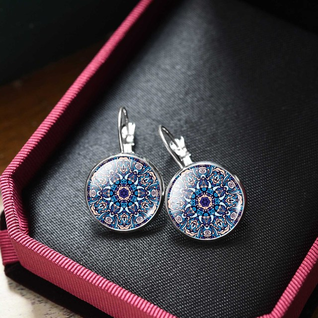 Mandala Earrings For Women