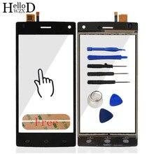 Precio de Fábrica Para Fly FS452 HelloWZXD FS 452 Sensor Panel de Pantalla Táctil de Cristal Digitalizador de piezas de Repuesto + Herramientas Adhesivas