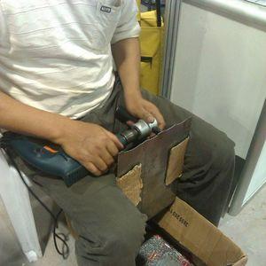Image 3 - Cortador de hoja de corte de Metal, taladro turbo de tijera para boquilla en la cabeza del destornillador, herramienta eléctrica, punta, accesorio de taladro FreZ
