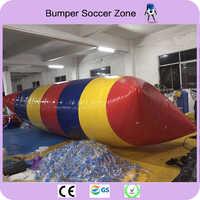 Freies Verschiffen 9x3 mt 0,9mm pvc Aufblasbare Trampoline Aufblasbare Wasser Kissen Wasser-klecks Sprung Wasser Schlag Wasser trampolin