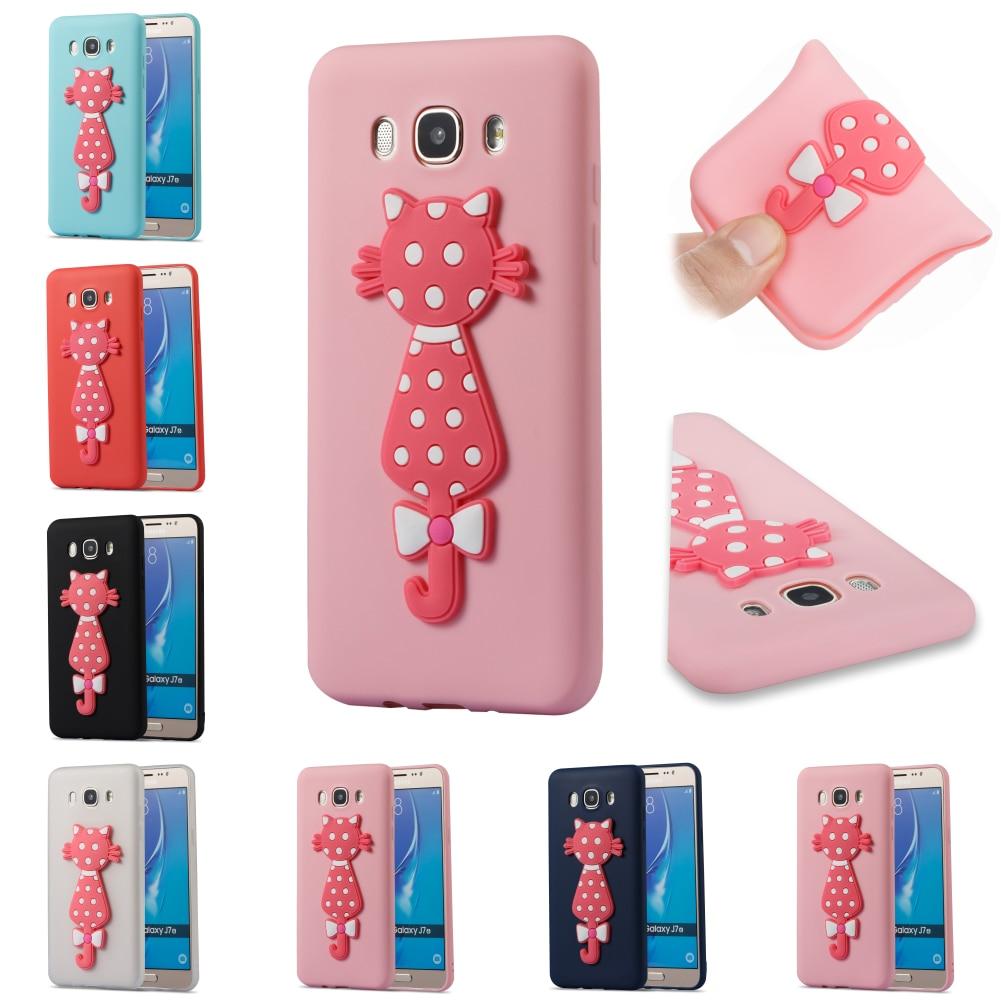 Cartoon Silicone TPU Soft Kryty Shell Phone Case Bag Cover Cubierta For Samsug Samsung Sumsung Galaxy Galax J7 2016 J710