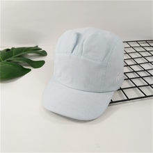 Children girls boys Summer Polo Cap Baseball Strap Sun Pony Protection sun Adjustable Cotton One Size Hat 9322(China)