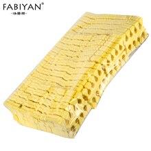 Yellow 200pcs Nail Art 100 Pairs Pack Toe Separators Fingers Foots Sponge Soft Gel UV Beauty Tools Polish Manicure Pedicure