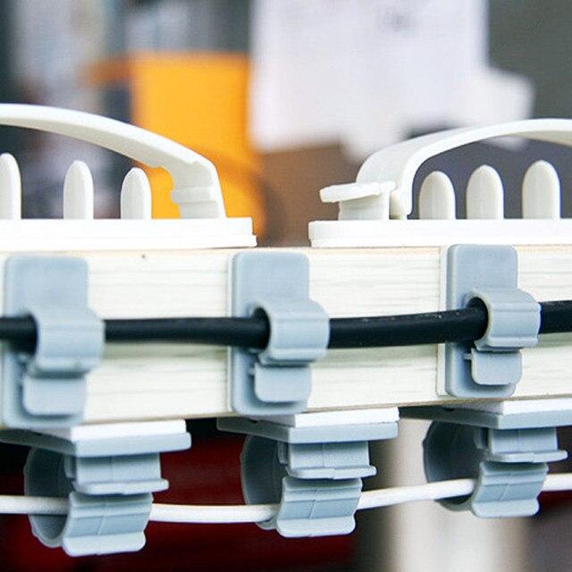 15Pcs /10Pcs Cable Holders Household Adhesive Storage Racks ...