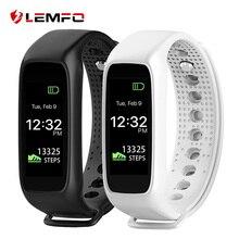 L30t Bluetooth Smart Браслет монитор сердечного ритма шагомер Цвет ЖК-дисплей Сенсорный экран SmartBand