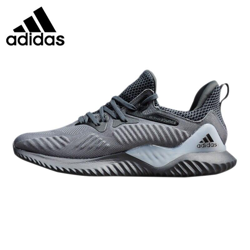 the best attitude c9e18 9cc77 Adidas Alphabounce fuera zapatos corrientes de los hombres, Original  deportes al aire libre zapatillas gris