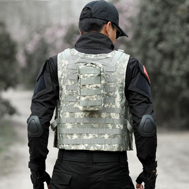 Männer Taktische Weste Jagd Military Airsoft Camouflage Military Uniform Kampf Weste Colete Tatico Armee Kleidung US Navy Seal - 5