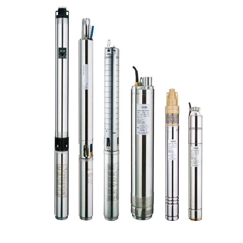 Stainless Steel Borehole Pumps  Deep Well Submersible Pump 3SDm1.8/7