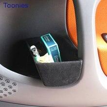Автомобиль дверной ящик для хранения для Mercedes Новый Smart Fortwo 453 дверные ручки коробка хранения автомобильные аксессуары интерьер контейнер box toolbox