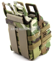 FAST MAG Pistol Magazine Pouch bag holster even FAST MAG 3 generations M4 Magazine Pouch Group (Multicam)