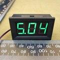 Caliente DC 4.5-30 V LED VERDE Voltaje 3-digital Voltímetro Panel Motocicleta DC 4.5 v-30 v voltímetro 6 v 9 v 12 v 24 v #0100