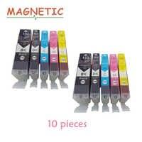 10X PGI150 CLI151 compatible ink cartridge For canon PIXMA IP7210 MG5410 MG5510 MG6410 MG6610 MG5610 MX921 MX721 IX6810 printer