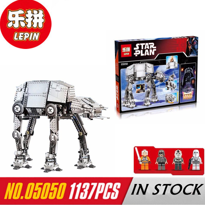 NEW Lepin 05050 Star War Series AT AT the Robot Electric Remote Control font b Building