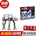 NUEVA Lepin 05050 Estrella de la Serie Guerra AT-AT el Robot Bloques de Construcción de Juguetes de Control Remoto Eléctrico 1137 unids Compatible Boys Toys regalo