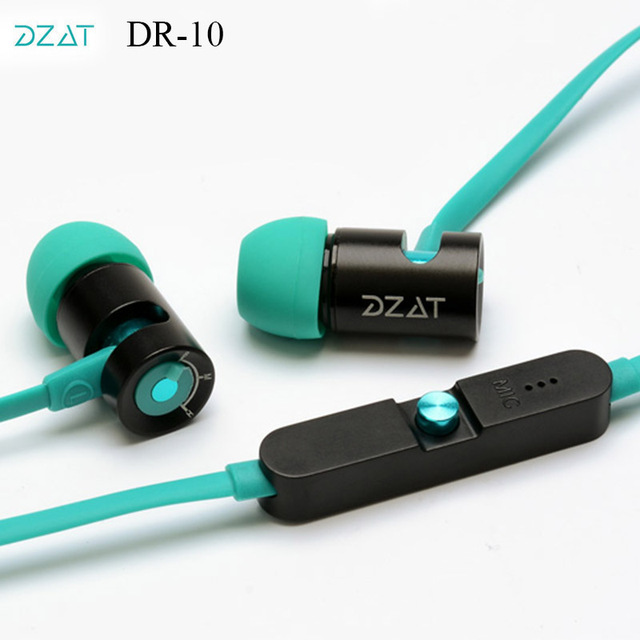 Original DZAT DR 10 Super Bass Hifi Stereo Adjustable Universal ...