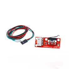 3pcs Optical Endstop Light Control Limit Switch For CNC RAMPS 1.4 Board 3D Printers Parts with 3 Pin Cable Red Part Accessories